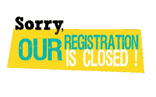 Registrations Closed